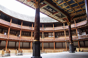 Stage of Shakespeare's Globe Theatre