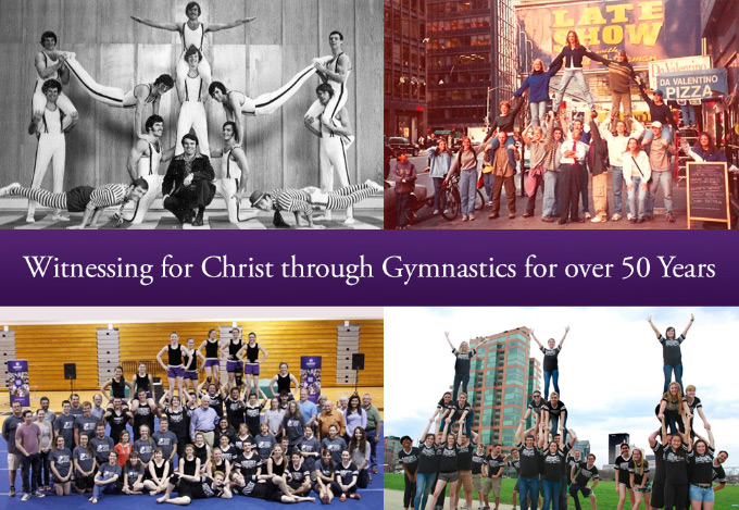Witnessing for Christ through Gymnastics for over 50 Years