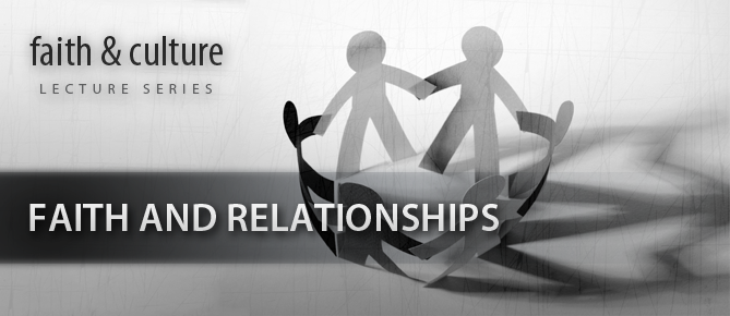 Faith and Relationships Banner