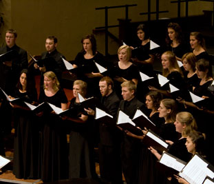 The chorale will perform Brahms' works in Lexington and Danville, April 9-10.