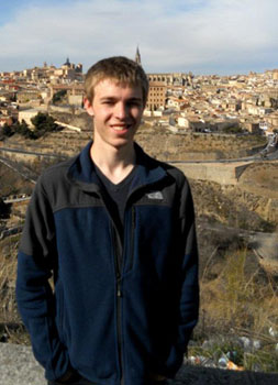 Sophomore Ben Adams has been granted an Undergraduate Research Program Award from the Kentucky Academy of Science.