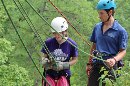 Asbury's Center for Adventure Leadership highlights the benefits of experiential learning. Photo by Nicole Allen.