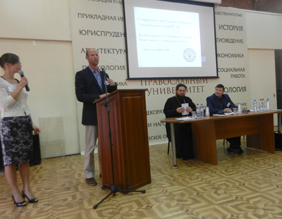 Dr. David Cecil presented at the Russian Orthodox University International Conference on Social Work Competencies.