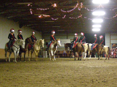 Christmas in the Country took place at the Asbury Equine Center.