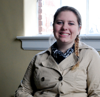 Senior Hannah Cummings will intern in Frankfort during the spring semester.