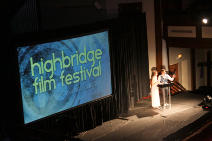 The Highbridge Film Festival draws more than 1,200 viewers each year.