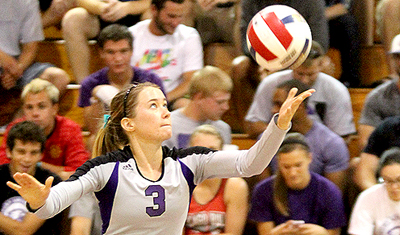 Both varsity and JV volleyball teams will play during Homecoming Weekend.