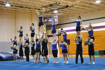 Asbury University Tumbling Team