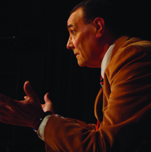 "Actor David Payne will present ""An Evening with C.S. Lewis"" at Reunion 2012 in June."