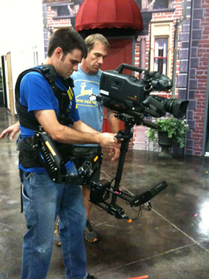 Asbury University hosted a Steadicam training weekend in the Miller Center for Communication Arts.