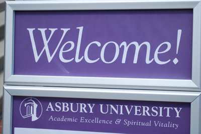 Asbury University new students
