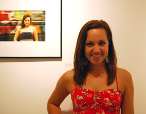 Kate Wenger '14 chose two of her prints from Photo II for the exhibit.