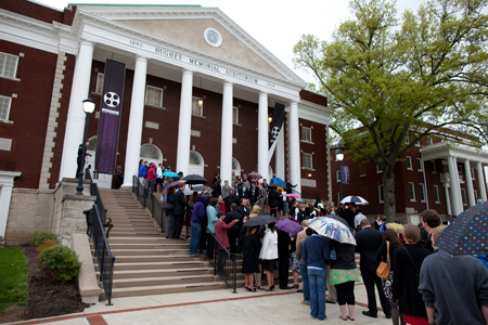 Highbridge Film Festival drew more than a thousand people to Asbury University's campus in Wilmore, Ky. Photo by Zach Wilson '11.
