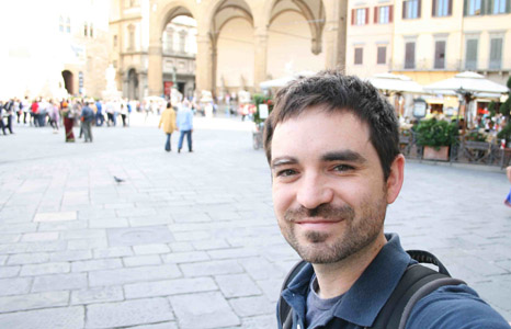 Instructor David Wheeler is working at a publication in Florence, Italy, this summer.
