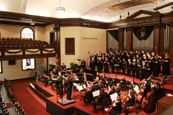 "Asbury's orchestra and combined choirs will sing Handel's ""Messiah"" on Dec. 2."