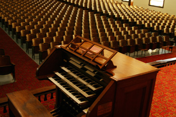 The Magee-Penniston Organ in Hughes Auditorium