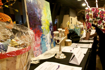 A silent auction helped raise funds for Stop Predatory Gambling Kentucky.