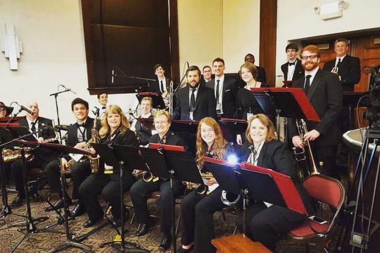 jazz ensemble concert in Hughes
