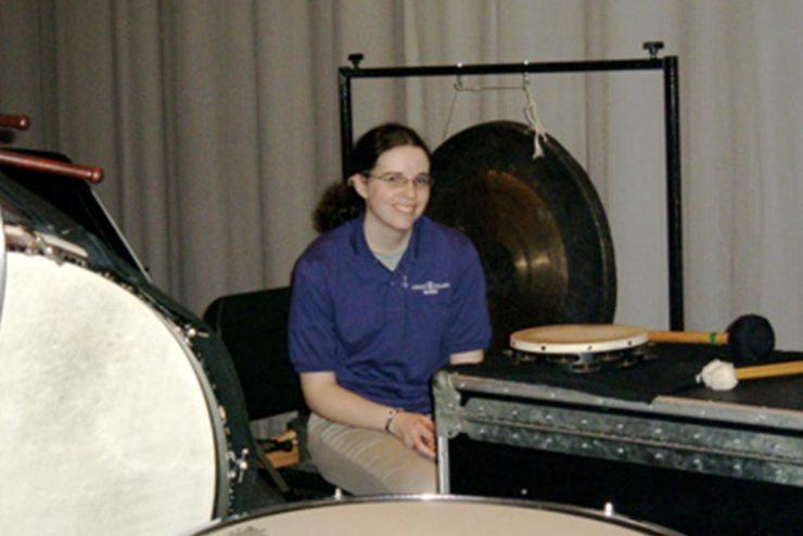 band percussionist