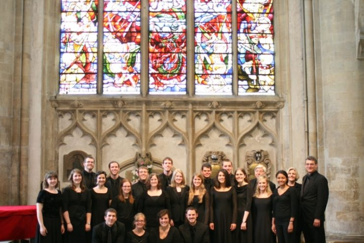Asbury University Chorale in Oxford, England