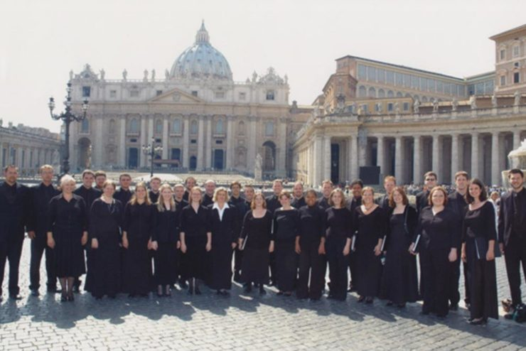 Asbury Vocal Ensemble at St. Peter's Basilica in Rome, Italy