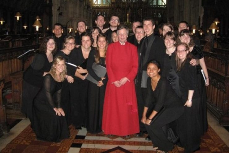Asbury Chorale at Gloucester Cathedral, UK