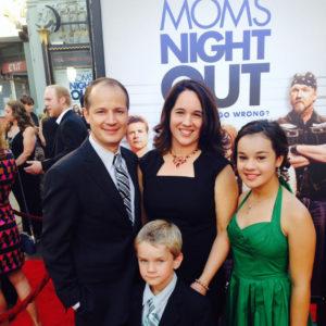 Brady and Andrea Nasfell and family