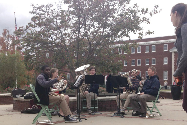 student brass quintet