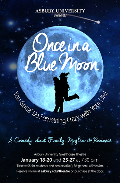 Poster for Once in a Blue Moon