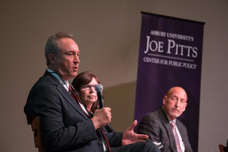 panelists at the Joe Pitts conference