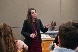 Allison Ball delivering a presentation