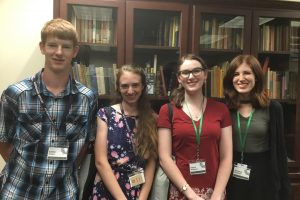 Asbury students present at C.S. Lewis Conference.
