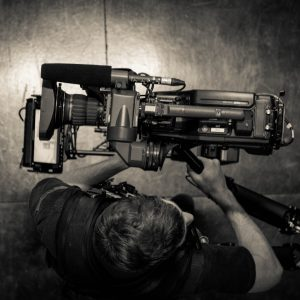large video camera on a Steadicam