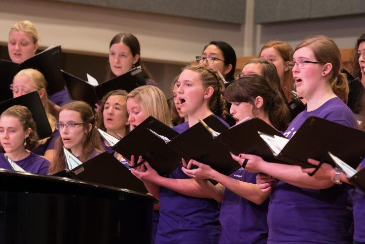 Women's Choir performance