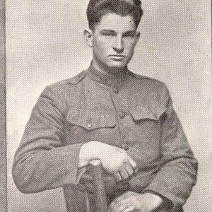 WWI soldier portrait