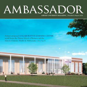 Ambassador magazine front cover