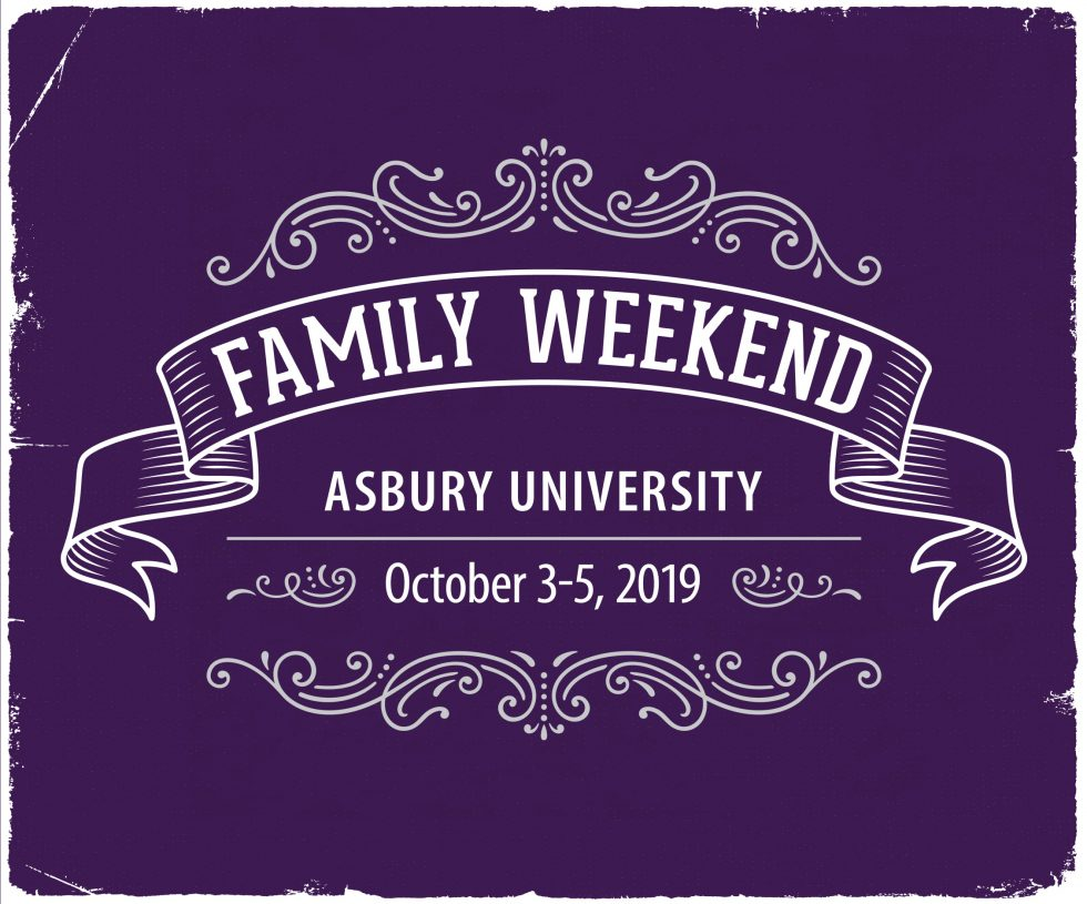 Asbury University Family Weekend, October 3-5, 2019