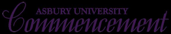 Asbury University Commencement