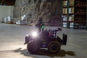 NASA JPL wheeled robot with sensors